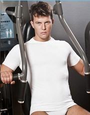 Pánské sportovní tričko bezešvé a antibakteriální