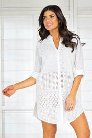Dámské letní košilové šaty Iconique IC8001