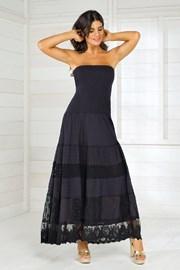 Dámské italské letní šaty Iconique IC8016 Black