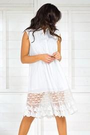 Dámské italské letní košilové šaty Iconique IC8017White