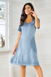 Dámské italské letní šaty Iconique IC8037
