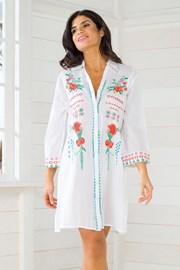 Dámské italské košilové letní šaty Iconique IC8089