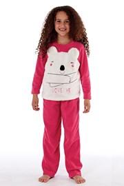 Dívčí  hřejivé pyžamo Bear