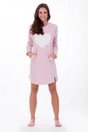 Dámská italská noční košile Softly Pink
