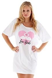 Dámská noční košile Love Birds růžová