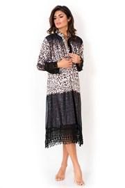 Dámské italské košilové šaty Miradonna, Africa