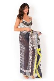Plážový šátek/pareo italské značky Miradonna, Africa 160x110cm