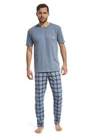 Pánské pyžamo Mountain modré