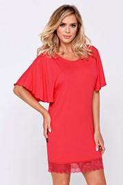 Elegantní košilka Nessy korálová