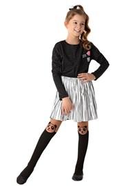 Dívčí punčochové kalhoty Panda
