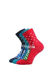 3 pack hřejivých ponožek Sova