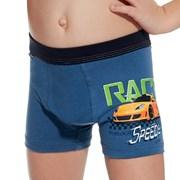 Chlapecké boxerky Race modré
