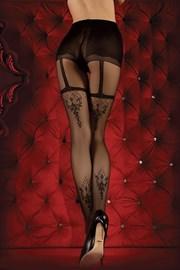 8d250c13767 Luxusní punčochové kalhoty Red Intense 347. černá