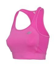 Dámský nevyztužený sportovní top Pink