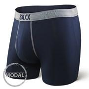 Pánské boxerky SAXX Platinum Navy Grey