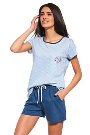 Dámské pyžamo Sea of Love modré