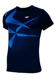 Pánské sportovní tričko 4F Dry Control Blue effect
