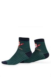 Dámské vzorované ponožky 992