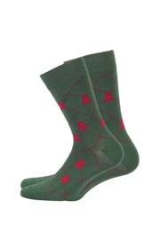 Pánské vzorované ponožky 970