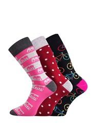 3 pack dámských ponožek Elin