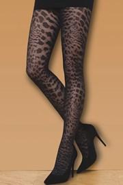 Vzorované punčochové kalhoty Wild Cat 50 DEN