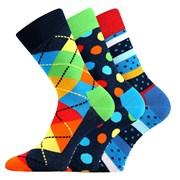 3pack módních ponožek Woodoo MixA