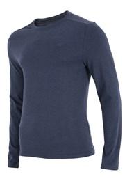 Pánské tričko 4F modré dlouhý rukáv
