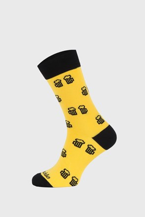 Ponožky Fusakle Na zdraví žluté