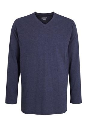 Pánské pyžamové triko Ceceba Melange