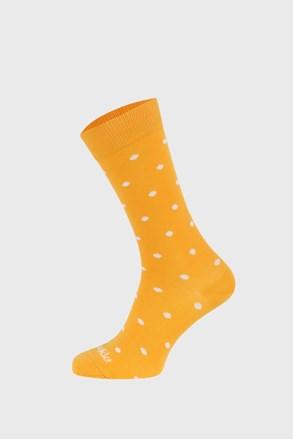 Шкарпетки Fusakle Горошок гірчиця