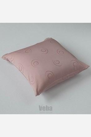 Povlak na polštářek Snail růžový