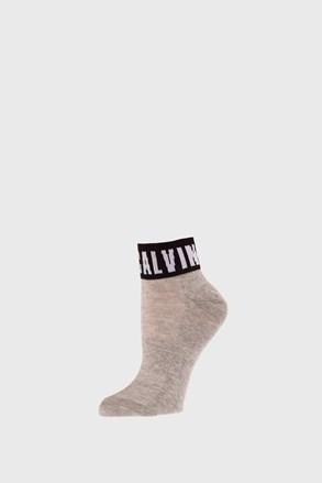Dámské ponožky Calvin Klein Kayla šedé