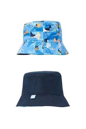 Kétoldalas fiú kalap