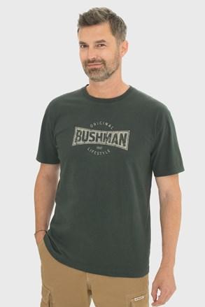 Tmavězelené tričko Bushman Gladwin