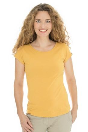 Dámske žlté tričko Bushman Natalie II