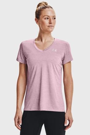 Sportovní tričko Under Armour Twist růžové