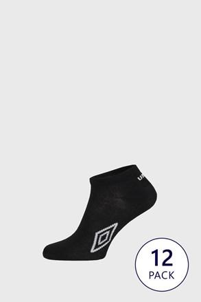 12 ШТ чорних шкарпеток до щиколотки Umbro