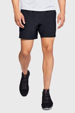 Černé běžecké šortky Under Armour