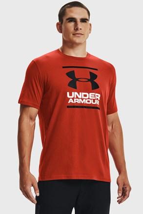 Tmavě červené tričko Under Armour Foundation