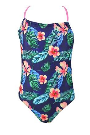 Dívčí jednodílné plavky Summer