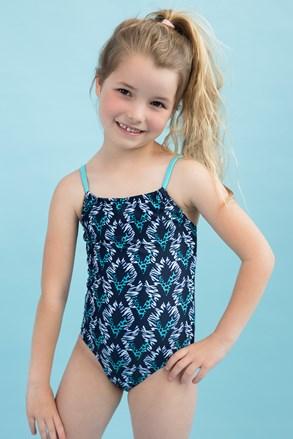 Aqua egyrészes lányka fürdőruha