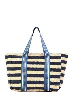 Dámská plážová taška Elle modrá