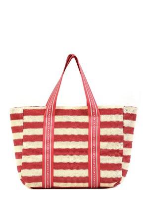 Dámská plážová taška Elle růžová