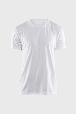 Pánské tričko CRAFT Essential bílé se vzorem