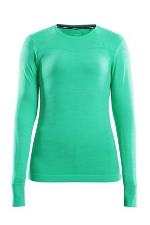 Dámské triko CRAFT Fuseknit Comfort sv.zelená