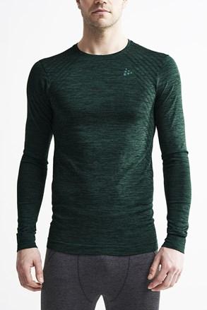 Pánské tričko Craft Fuseknit Comfort tm.zelené