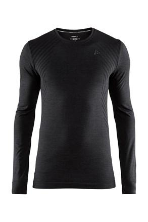 Pánské tričko CRAFT Fuseknit Comfort Black