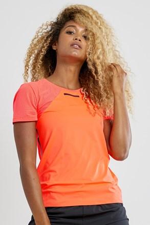 Dámské tričko CRAFT Vent Mesh SS oranžové