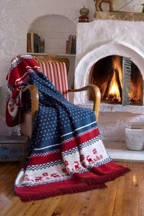 Vánoční deka Warm