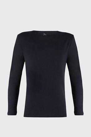 Tričko s dlouhým rulkávem Cotton Nature modré